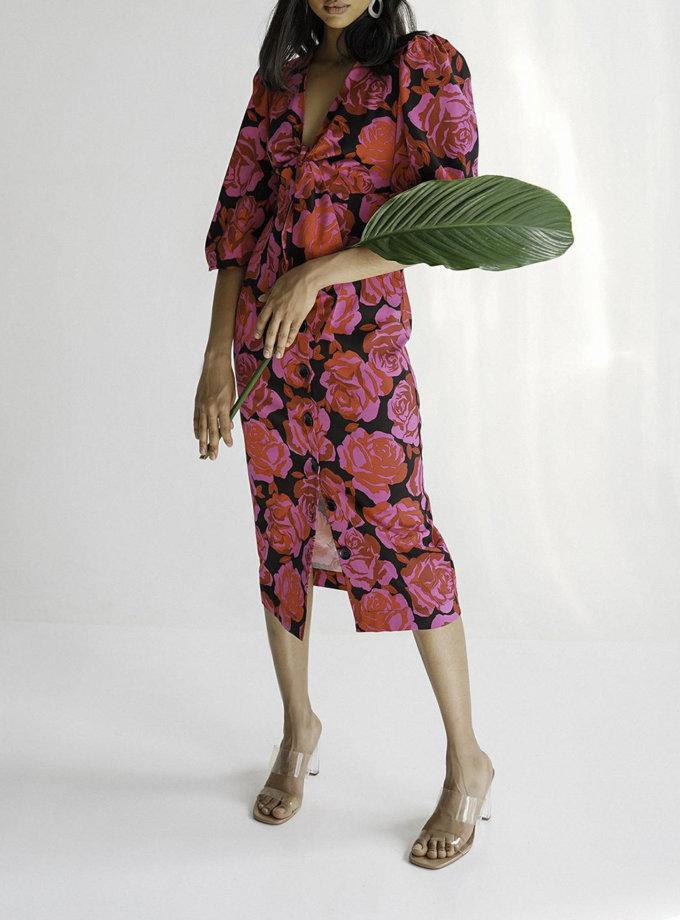 Платье миди Marry MC_MY7021-4, фото 1 - в интернет магазине KAPSULA