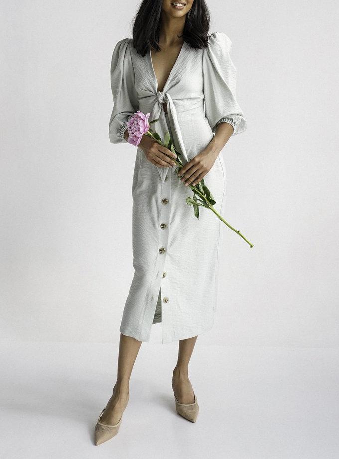 Льняное платье Marry MC_MY7021-5, фото 1 - в интернет магазине KAPSULA