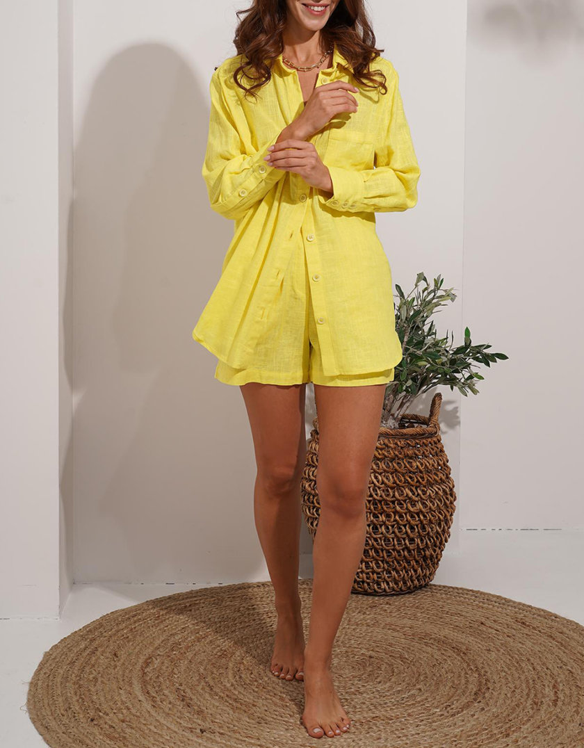 Льняной костюм Zuri MC_MY7321, фото 1 - в интернет магазине KAPSULA