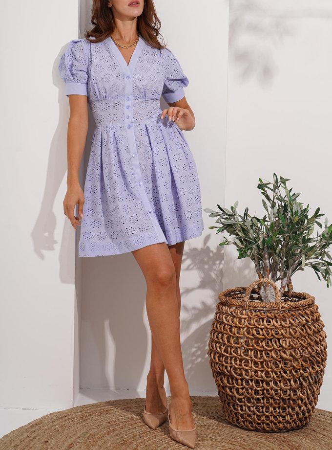 Хлопковое платье Porto MC_MY7821, фото 1 - в интернет магазине KAPSULA