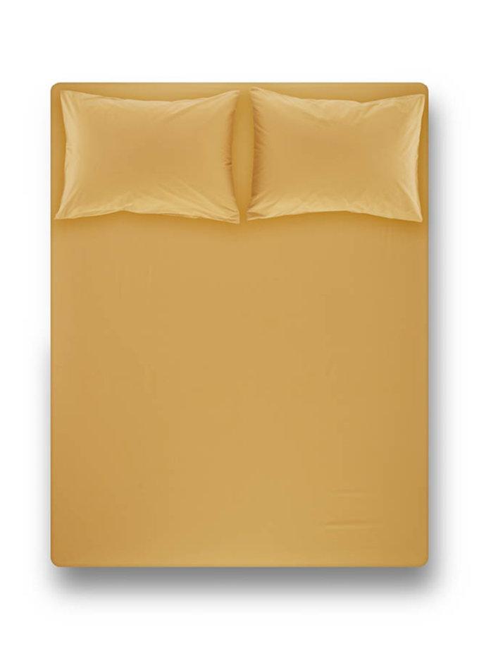 Простынь на резинке с наволочками Laura Mustard PN_svt-2000022278096, фото 1 - в интернет магазине KAPSULA