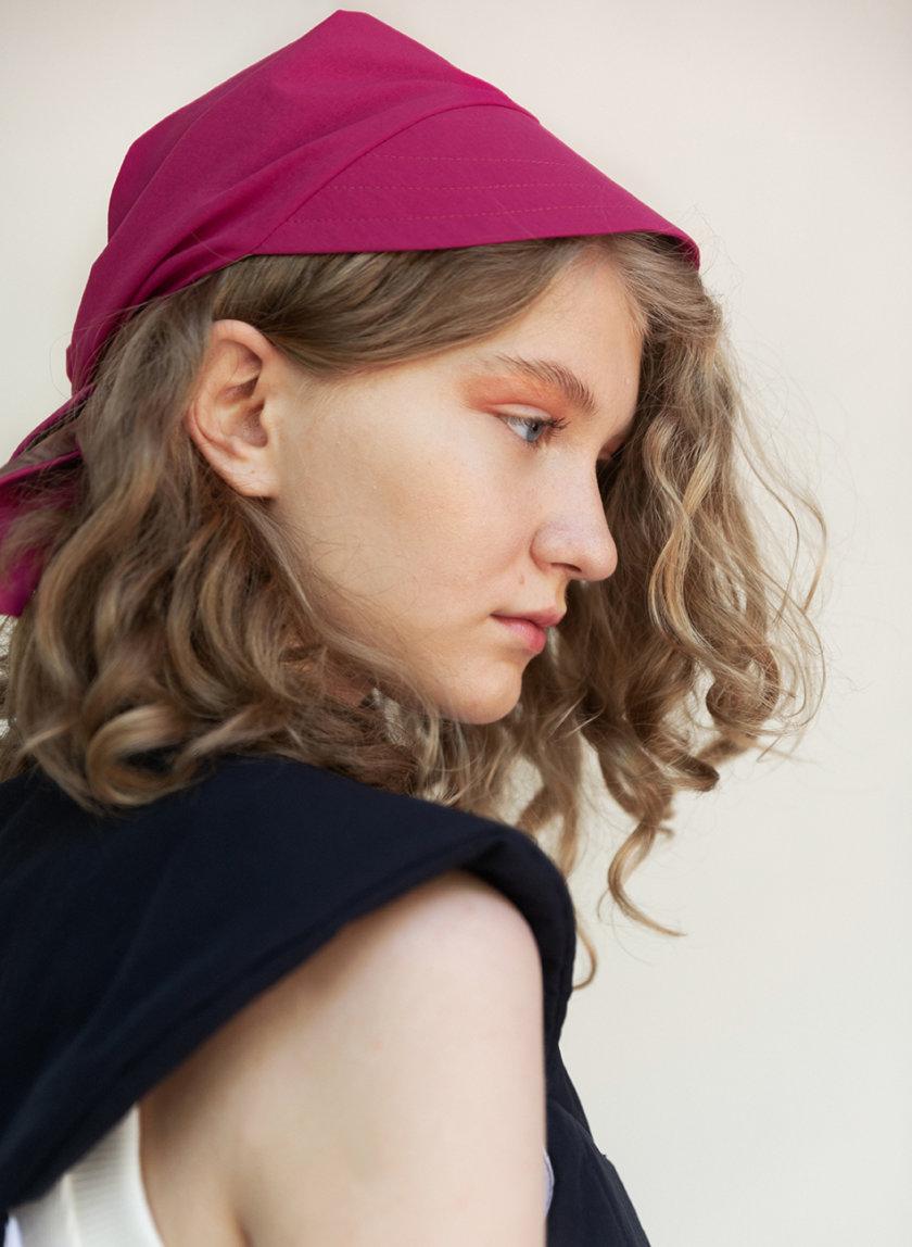 Косынка с козырьком SHP-kerchief, фото 1 - в интернет магазине KAPSULA