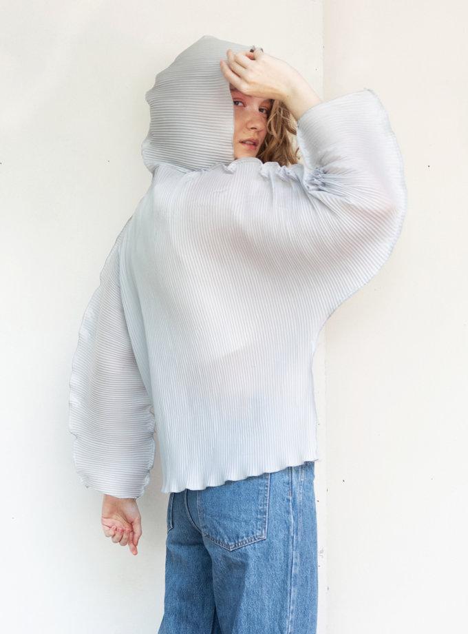 Дождевик укороченный SHP_raincoat-blue, фото 1 - в интернет магазине KAPSULA
