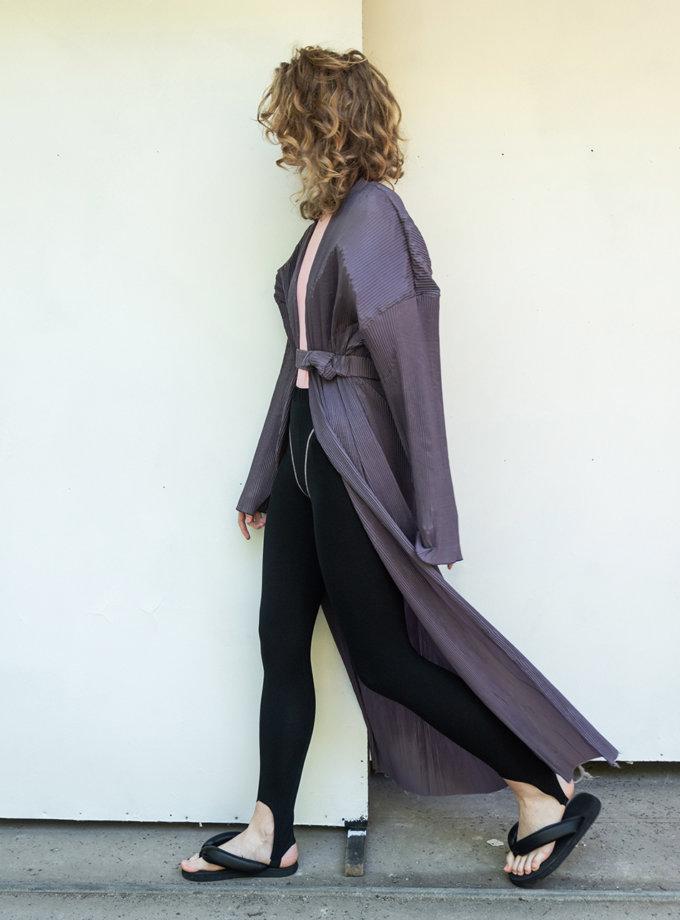 Длинный дождевик SHP_raincoat-purple, фото 1 - в интернет магазине KAPSULA