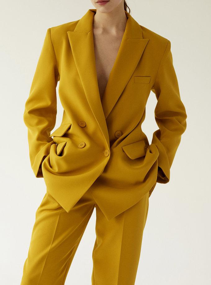 Двубортный костюм TOTE_SS20-S01, фото 1 - в интернет магазине KAPSULA