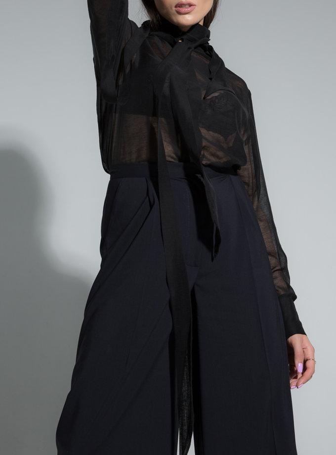 Блуза з прозорого шовку SLR_SS21_14, фото 1 - в интернет магазине KAPSULA