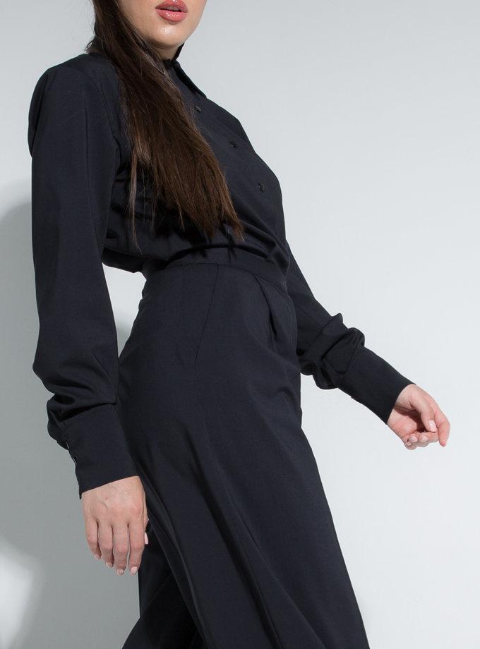 Сорочка з подвійним коміром SLR_SS21_16, фото 1 - в интернет магазине KAPSULA