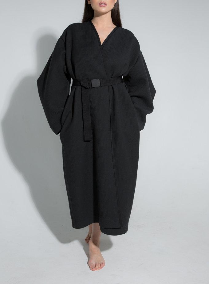 Пальто-кімоно з рукавами трансформерами SLR_SS21_17, фото 1 - в интернет магазине KAPSULA