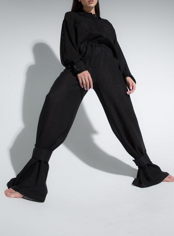 Комплект из рубашки и брюк на резинке SLR_SS21_5, фото 1 - в интернет магазине KAPSULA
