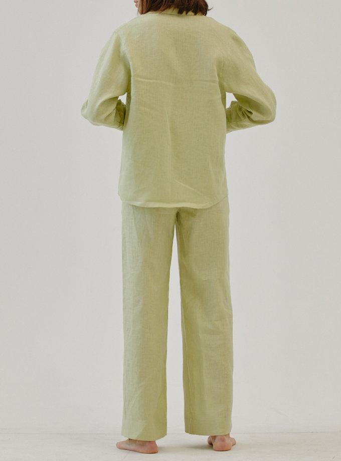 Льняные брюки MRZZ_mz_104721, фото 1 - в интернет магазине KAPSULA