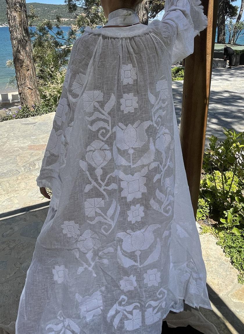 Платье из льна Рута VF_UA-0001, фото 1 - в интернет магазине KAPSULA