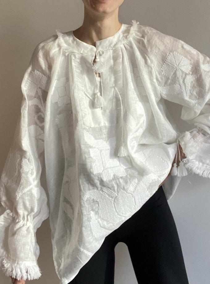 Сорочка з льону Рута VF_UA-0009116, фото 1 - в интернет магазине KAPSULA