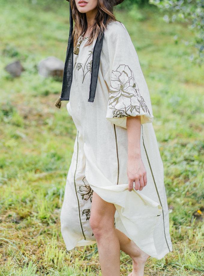 Сукня з льону Лілія VF_UA-1613, фото 1 - в интернет магазине KAPSULA