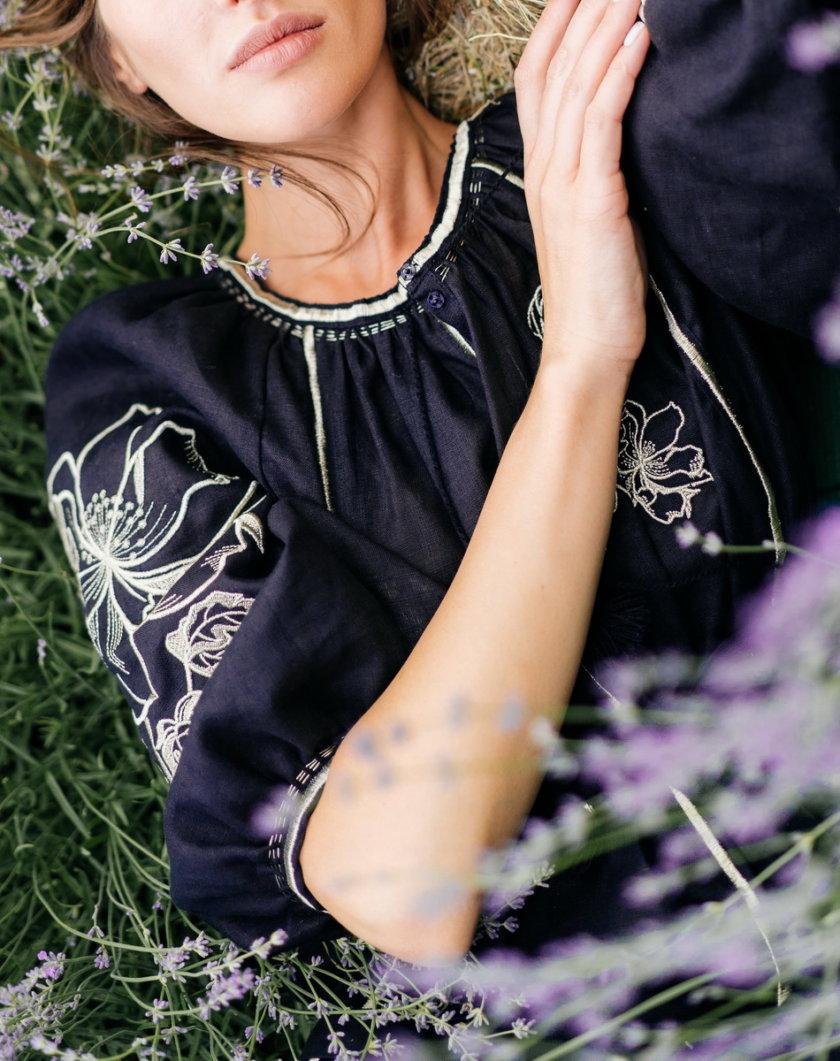 Платье из льна Лилия VF_UA-1622, фото 1 - в интернет магазине KAPSULA
