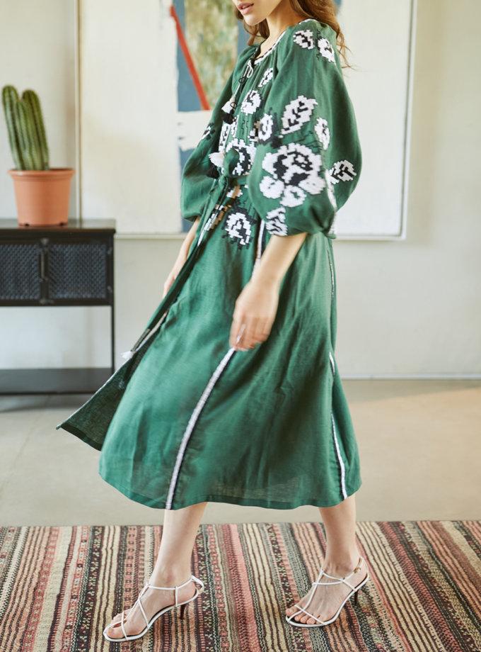 Сукня з льону Троянда VF_UA-0083112, фото 1 - в интернет магазине KAPSULA
