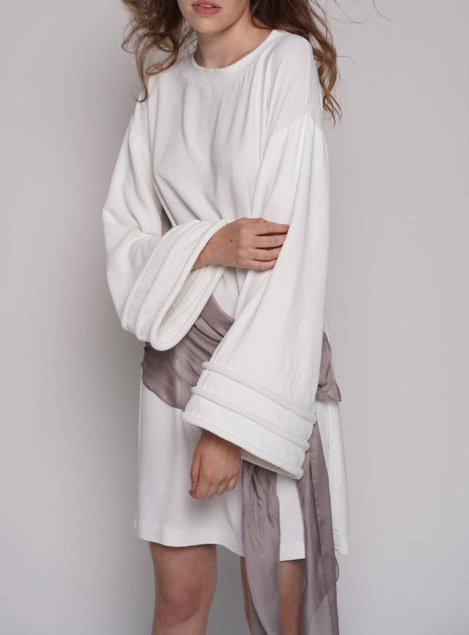 Сукня з об'ємними рукавами ZHRK_zkss2100009, фото 1 - в интернет магазине KAPSULA