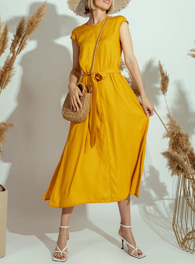 Платье миди из вискозы MMT_023d-mango, фото 1 - в интернет магазине KAPSULA