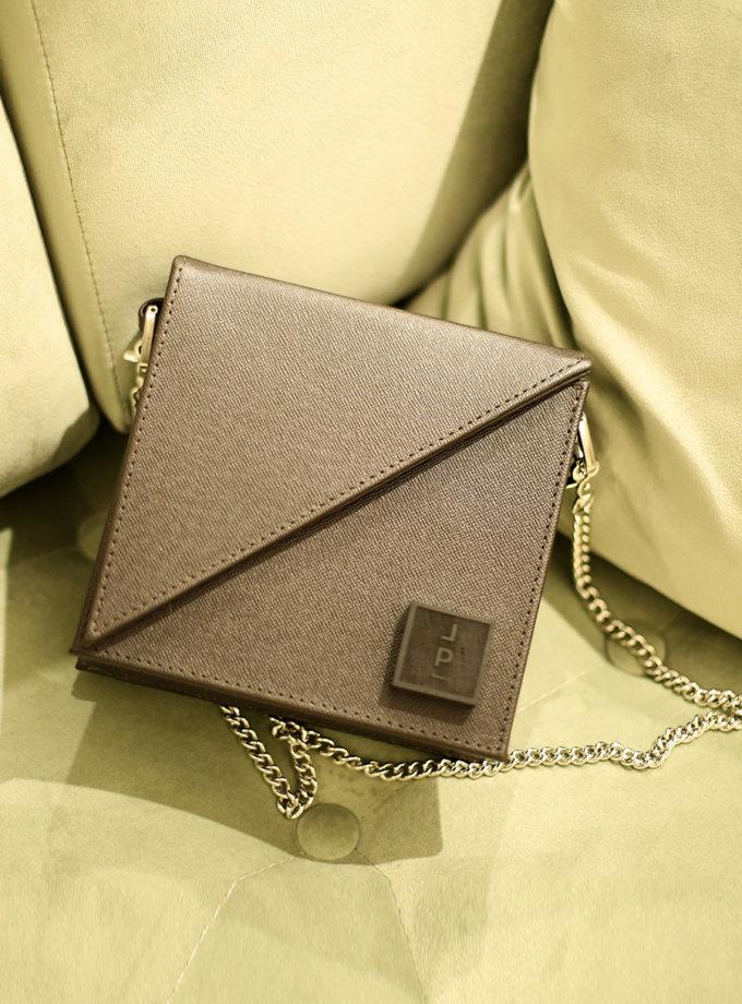 Шкіряна сумка Alex Bag in dark brown LPR_AL-BE-BA-brown, фото 1 - в интернет магазине KAPSULA
