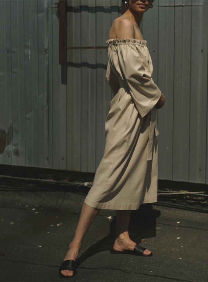Сукня бохо з льону SNDR_SSR20с, фото 1 - в интернет магазине KAPSULA