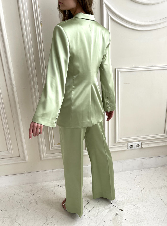 Костюм с приталенным жакетом и брюками LUSSO_SS21_4, фото 1 - в интернет магазине KAPSULA