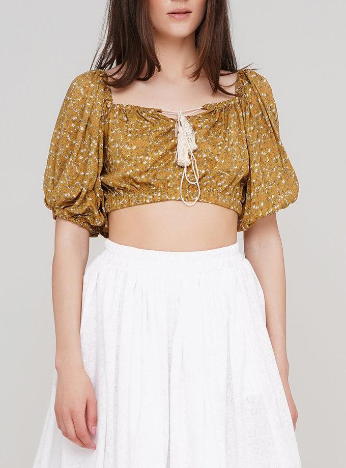 Блуза з рукавом ліхтарик AY_3183, фото 1 - в интернет магазине KAPSULA