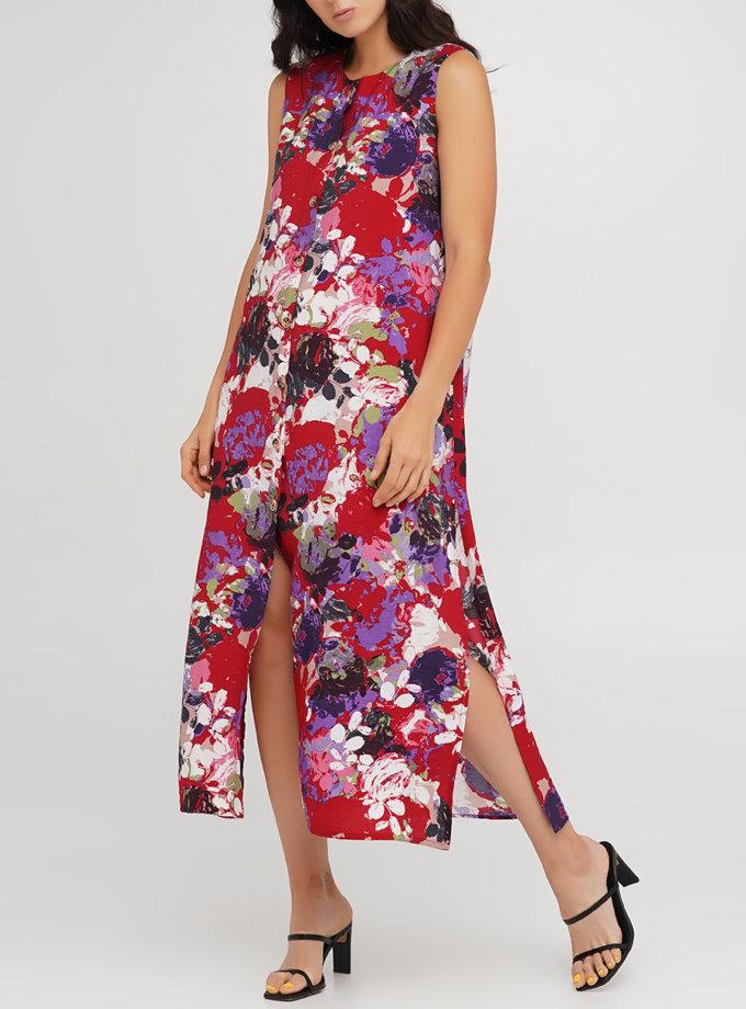 Плаття-туніка з віскози AY_3213, фото 1 - в интернет магазине KAPSULA