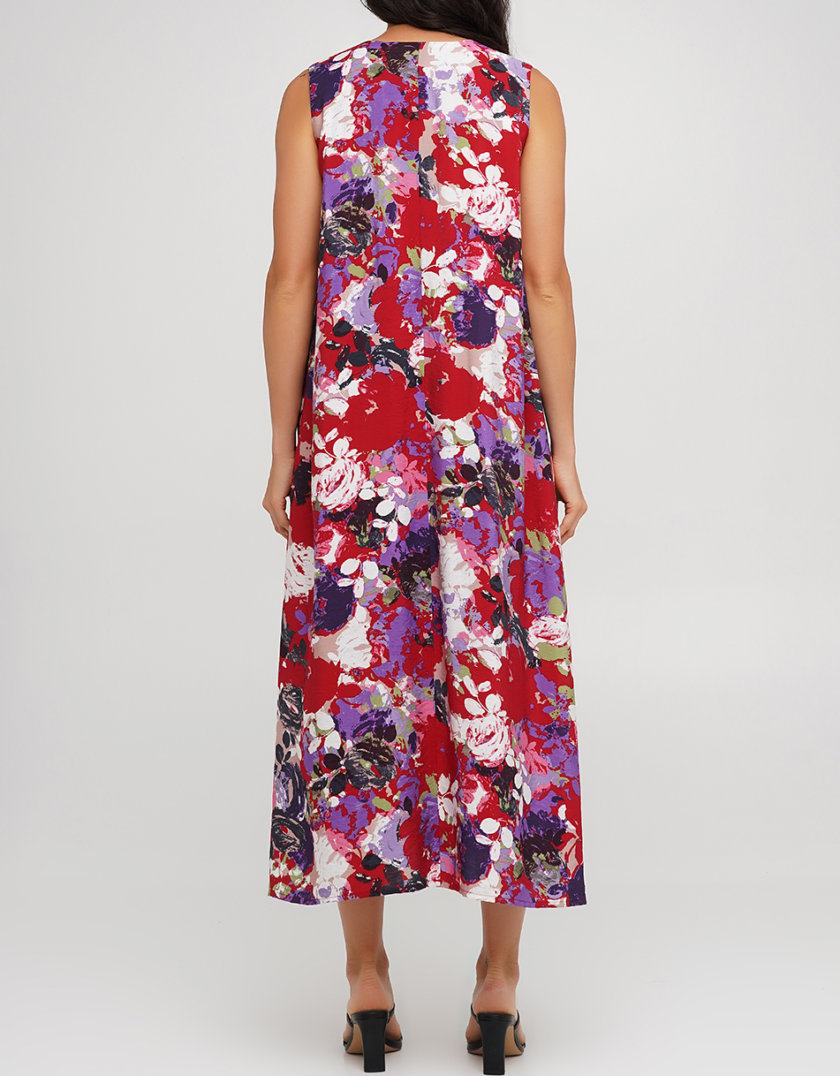 Платье-туника из вискозы AY_3213, фото 1 - в интернет магазине KAPSULA