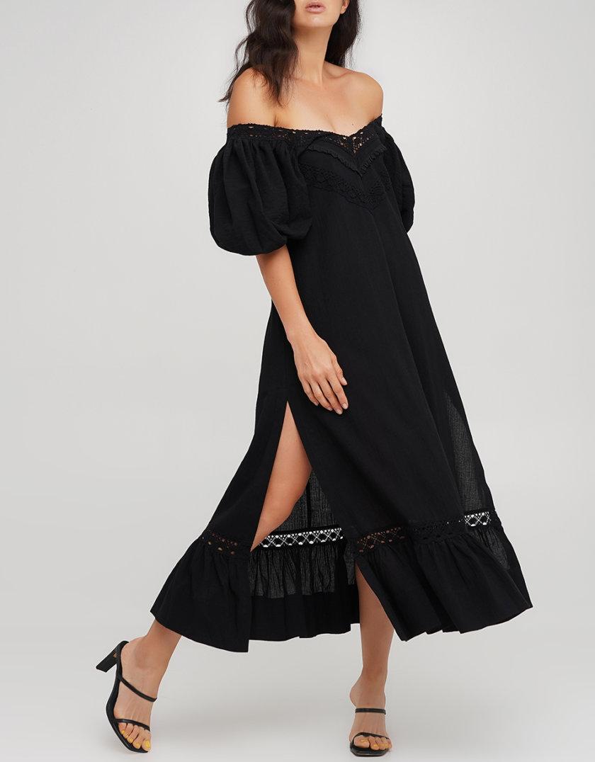 Хлопковое платье трапеция AY_3222, фото 1 - в интернет магазине KAPSULA
