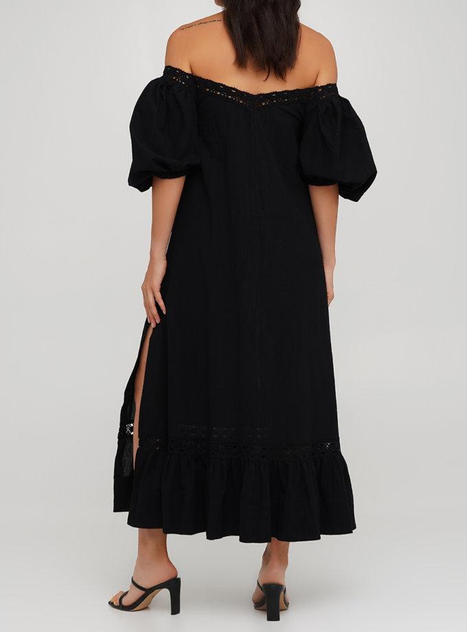Бавовняна сукня трапеція AY_3222, фото 1 - в интернет магазине KAPSULA