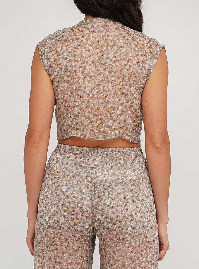 Блуза зі спущеними рукавом AY_3224, фото 1 - в интернет магазине KAPSULA