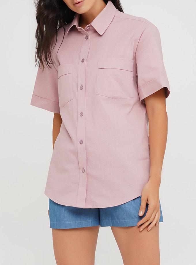 Льняна сорочка AY_3228, фото 1 - в интернет магазине KAPSULA