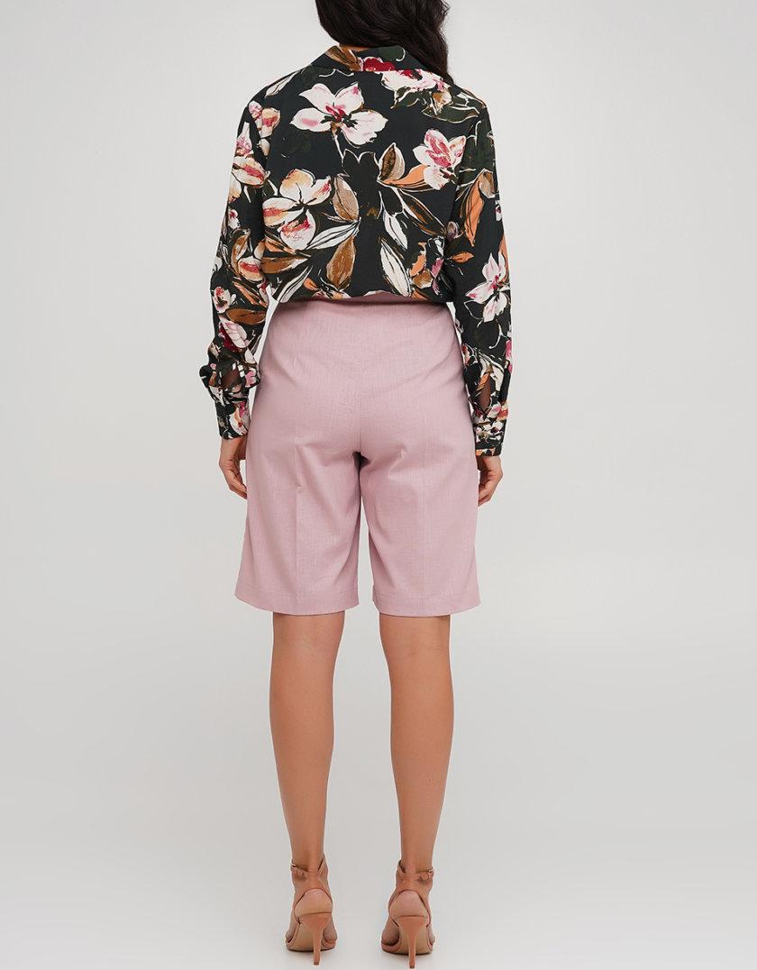 Льняные удлиненные шорты AY_3229, фото 1 - в интернет магазине KAPSULA
