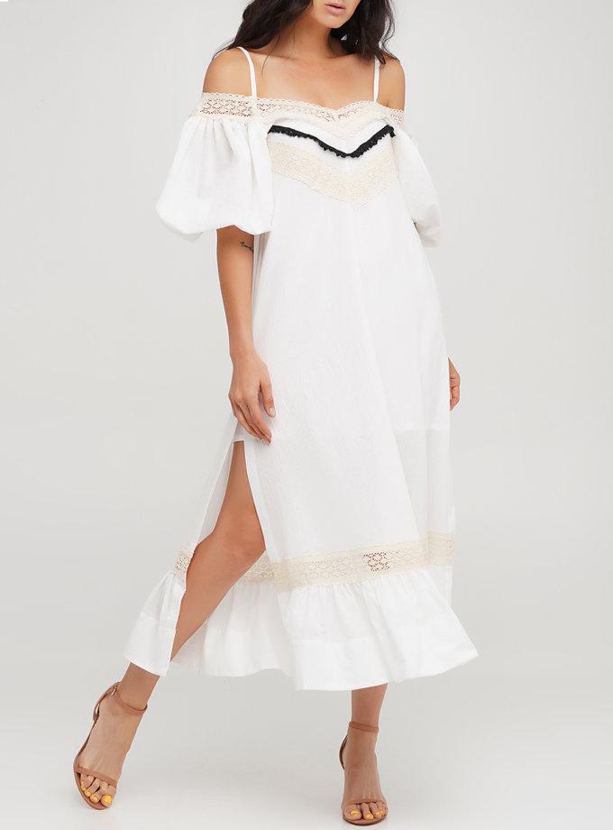 Бавовняна сукня трапеція AY_3234, фото 1 - в интернет магазине KAPSULA