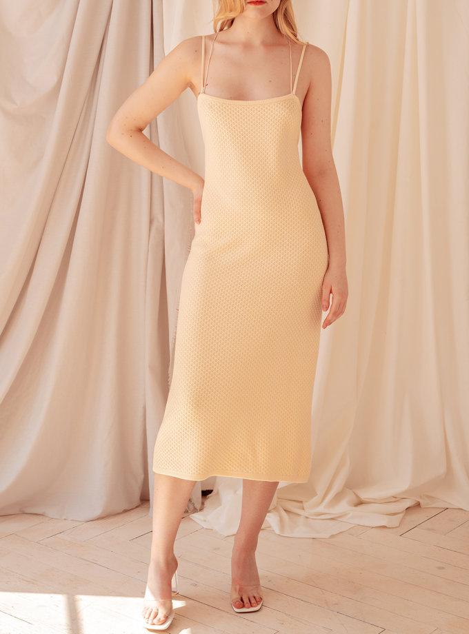 Платье миди Мишель WKMF_34_1, фото 1 - в интернет магазине KAPSULA