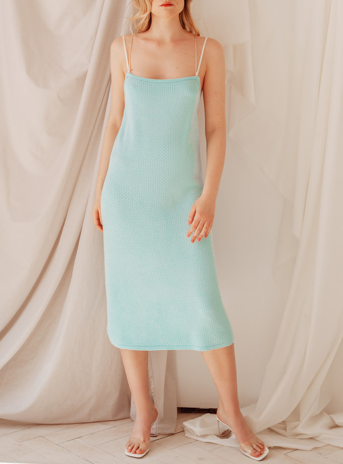 Платье миди Мишель WKMF_34_2, фото 1 - в интернет магазине KAPSULA