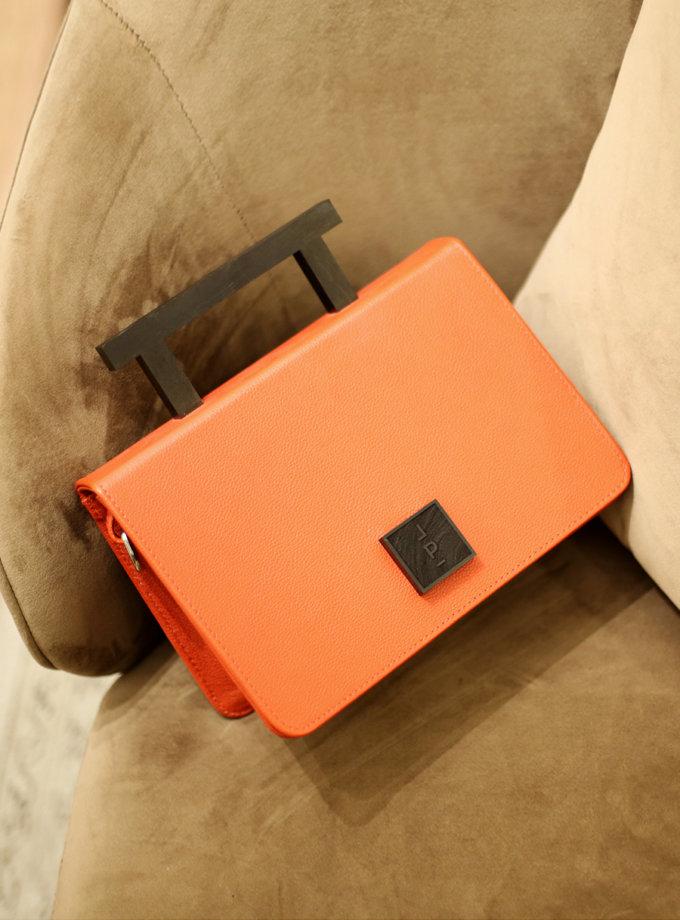 Кожаная сумка Medium Nicole in terracotta LPR_NI-BA-M-terracotta, фото 1 - в интернет магазине KAPSULA