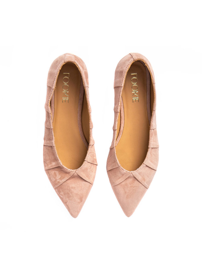 Замшеві балетки Lines LA_EMILY_P, фото 1 - в интернет магазине KAPSULA