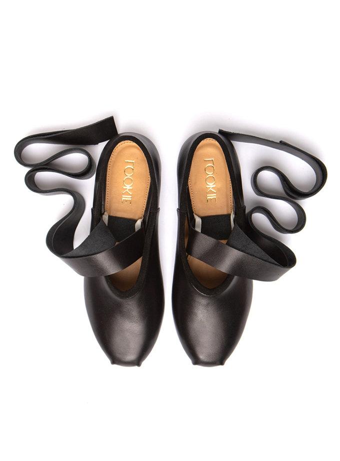 Замшеві балетки Lines LA_ASSA_Bl, фото 1 - в интернет магазине KAPSULA
