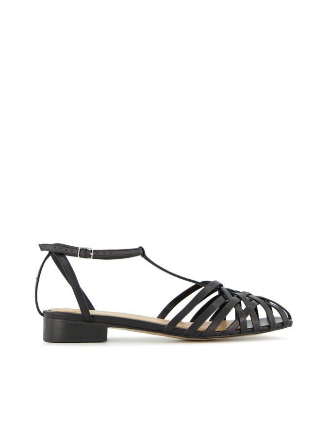 Шкіряні сандалі Gwen LA_GWEN_M-BL, фото 1 - в интернет магазине KAPSULA