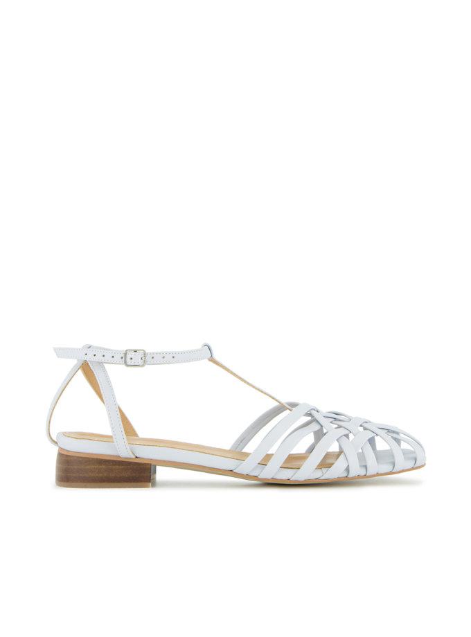 Шкіряні сандалі Gwen LA_GWEN_M-BLUE, фото 1 - в интернет магазине KAPSULA