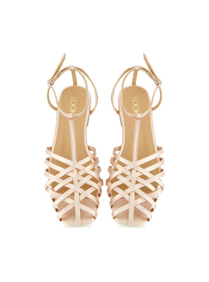 Шкіряні сандалі Gwen LA_GWEN_M-PINK, фото 1 - в интернет магазине KAPSULA