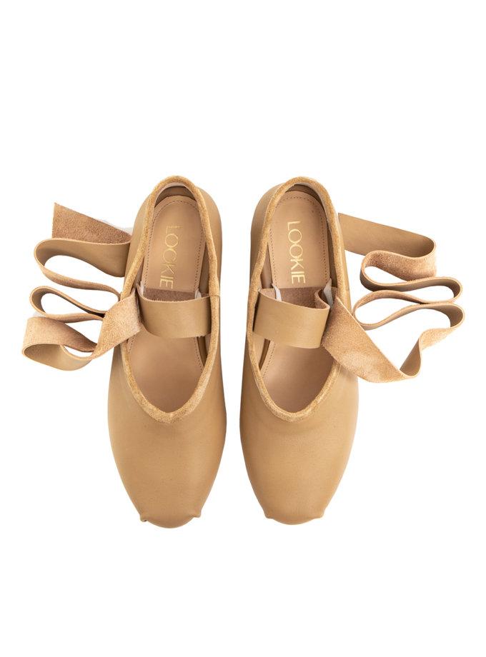Замшеві балетки Lines LA_ASSA_Bei, фото 1 - в интернет магазине KAPSULA