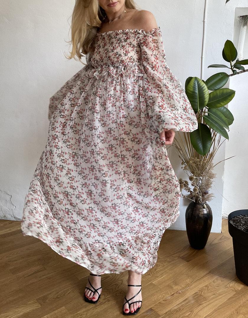 Платье макси Полина WN_AIM_1471, фото 1 - в интернет магазине KAPSULA