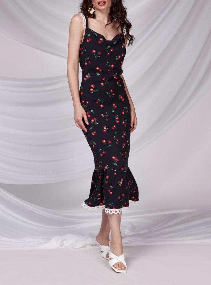 Напівприталена сукня CVR_CHERRY-SS21, фото 1 - в интернет магазине KAPSULA