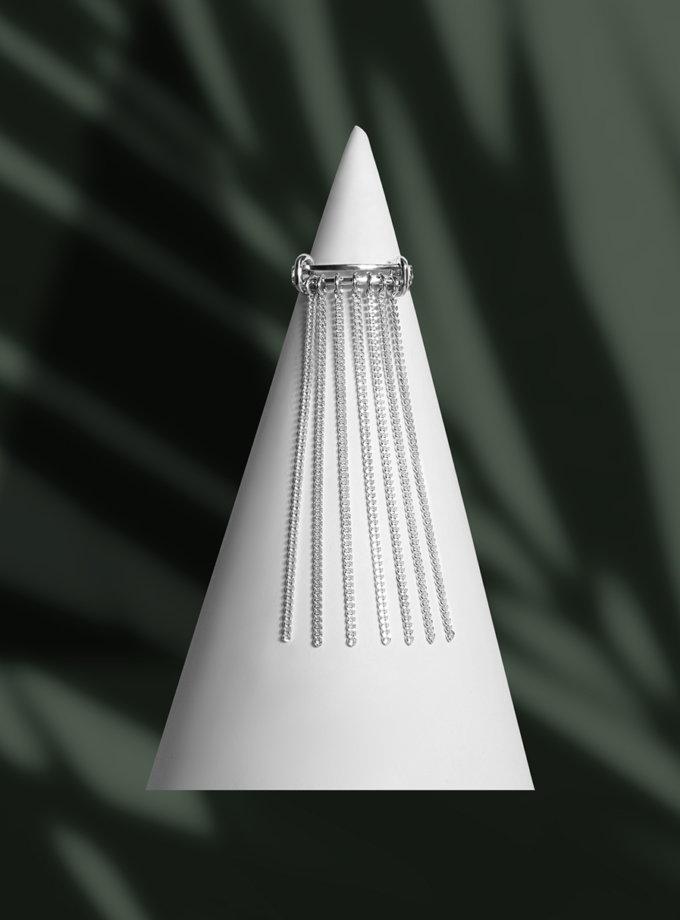 Кольцо Confidence с цепочкой IVA_CS04, фото 1 - в интернет магазине KAPSULA