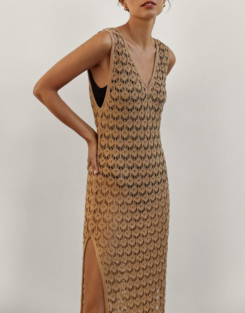 Платье с разрезами Penelope CHMSP_CS_18302, фото 1 - в интернет магазине KAPSULA