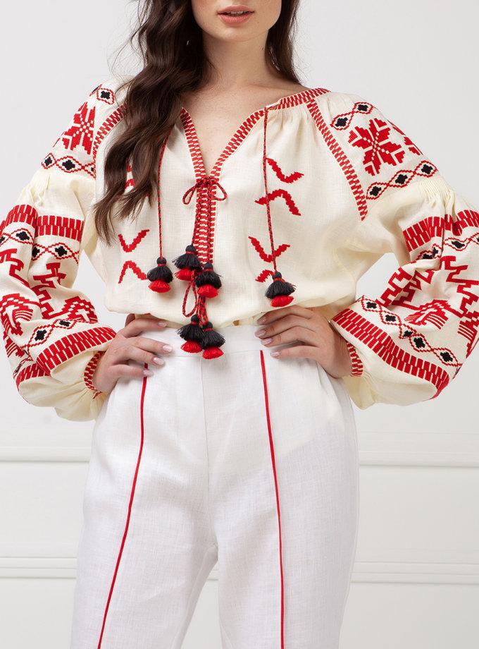 Блуза Тіна FOBERI_SS19055, фото 1 - в интернет магазине KAPSULA