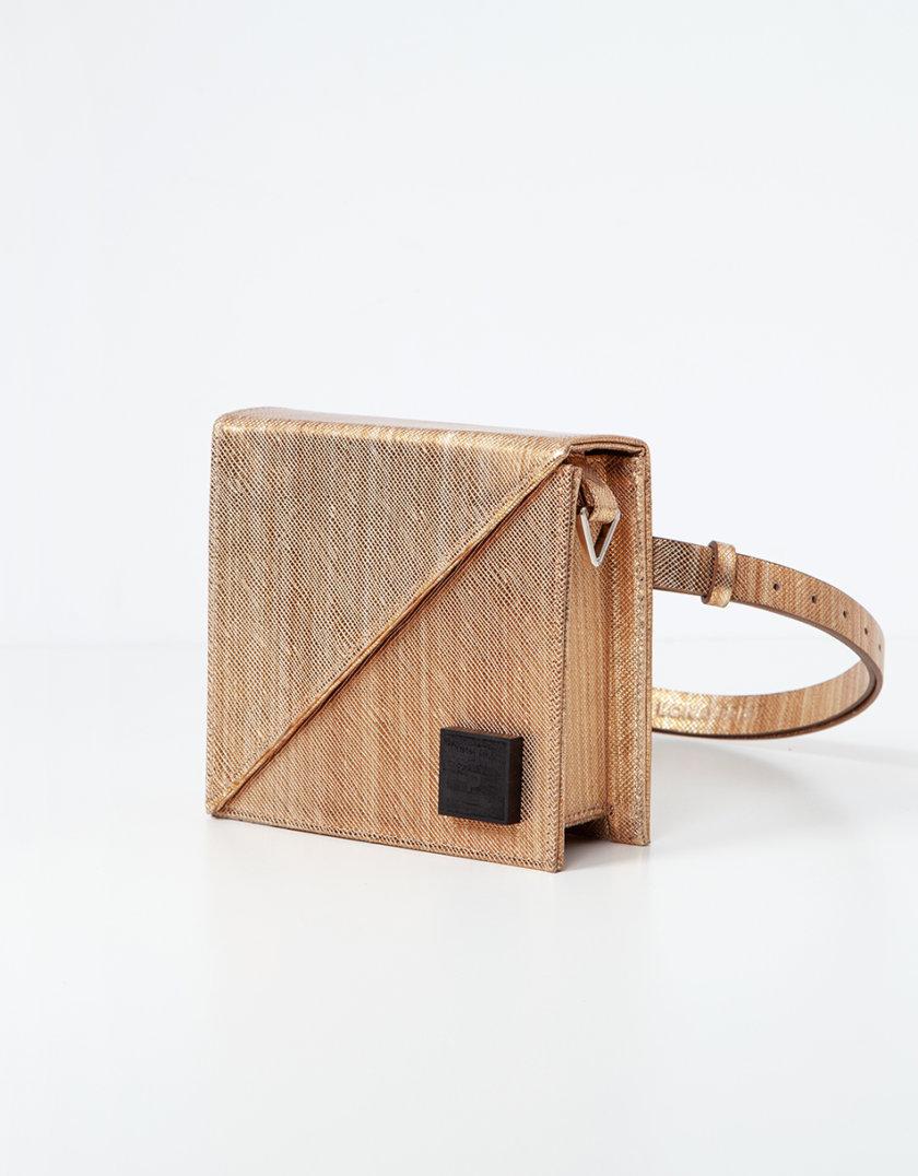 Кожаная сумка Alex Bag in gold LPR_AL-BE-BA-gold, фото 1 - в интернет магазине KAPSULA
