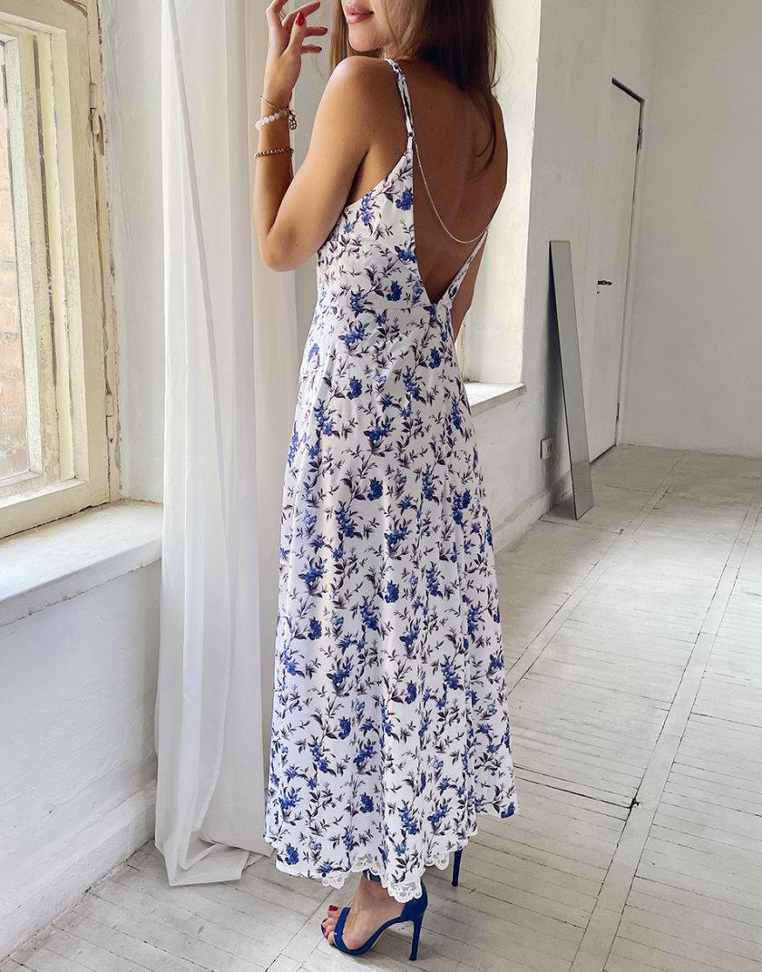 Платье с открытой спиной Лия WN_AIM 401, фото 1 - в интернет магазине KAPSULA
