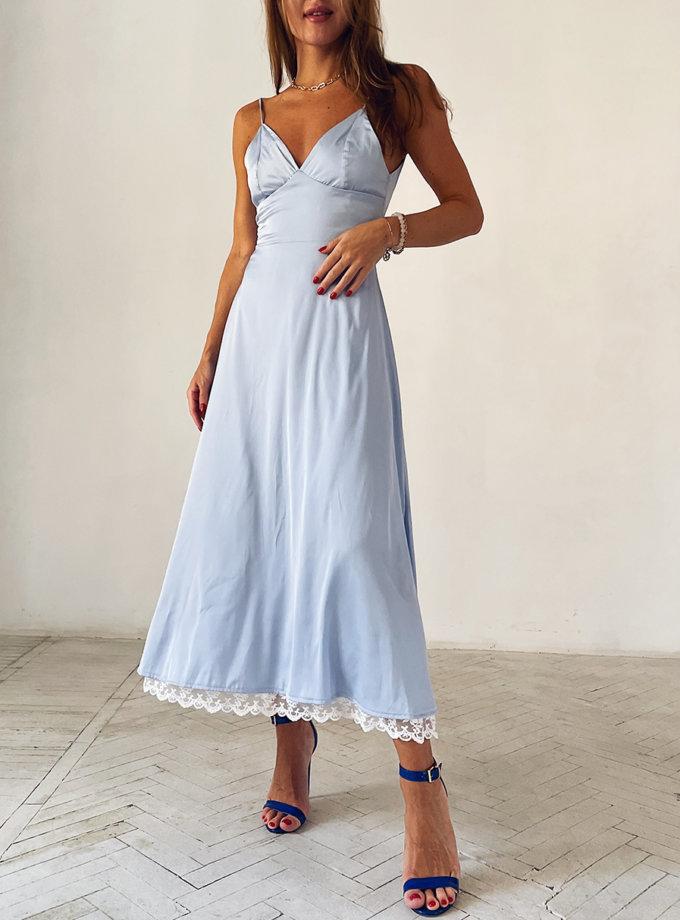 Платье с открытой спиной Лия WN_AIM 402, фото 1 - в интернет магазине KAPSULA
